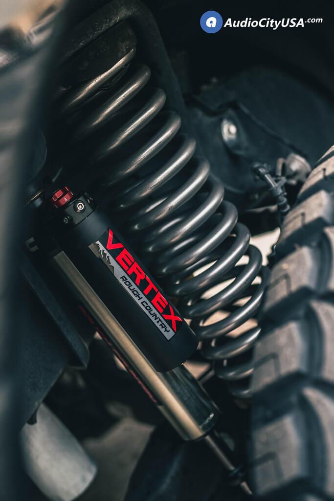 "22"" RBP Wheels 87R Blade Gloss Black Milled Off-Road Rims"
