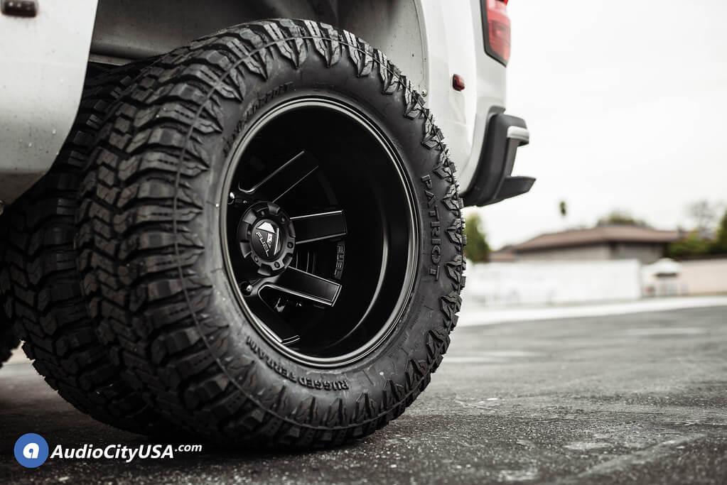 """20"""" Fuel Wheels D538"""