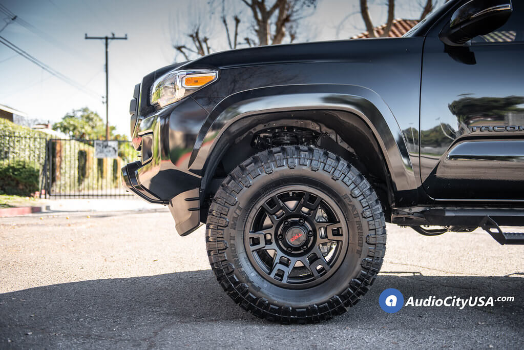 TRD Pro Wheels Matte Black OEM Replica Rims