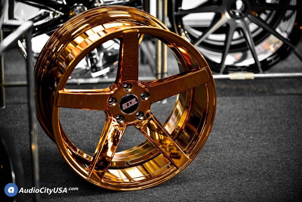 """20"""" STR Wheels 607 Candy Copper Rims DEEP CONCAVE"""