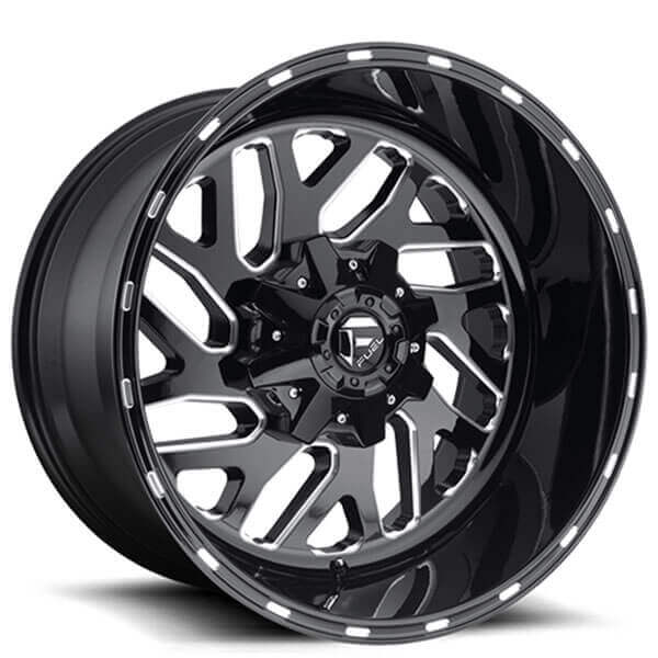 Fuel_Wheels_D581_Triton_Black_Milled_rims_AudiocityUSA