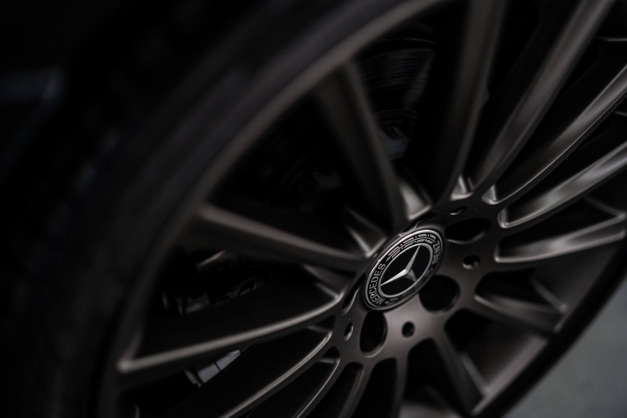 how to clean black rims
