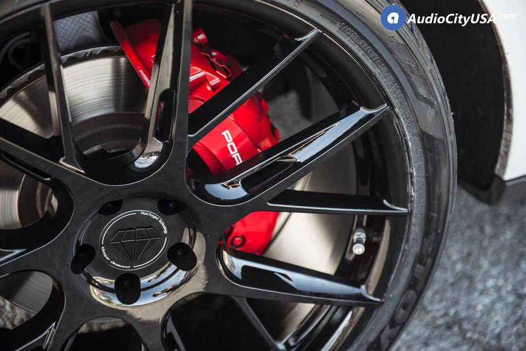 Staggered Blaque Diamond Wheels BD-F18