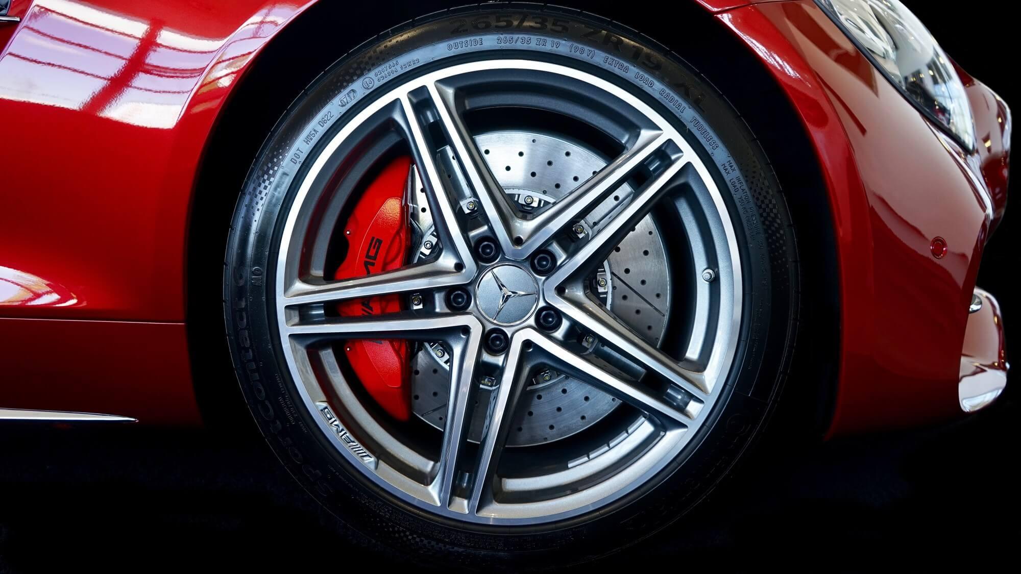 mercedes after-market wheels
