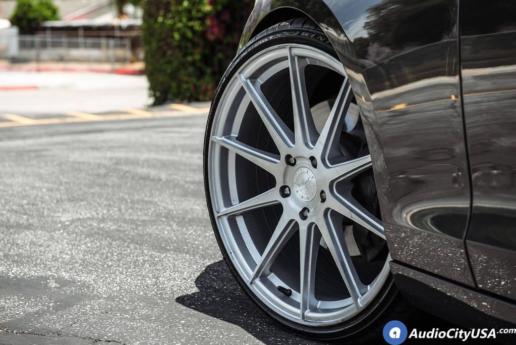 """20"""" Vertini Wheels RFS 1.3 Brush Silver Face"""