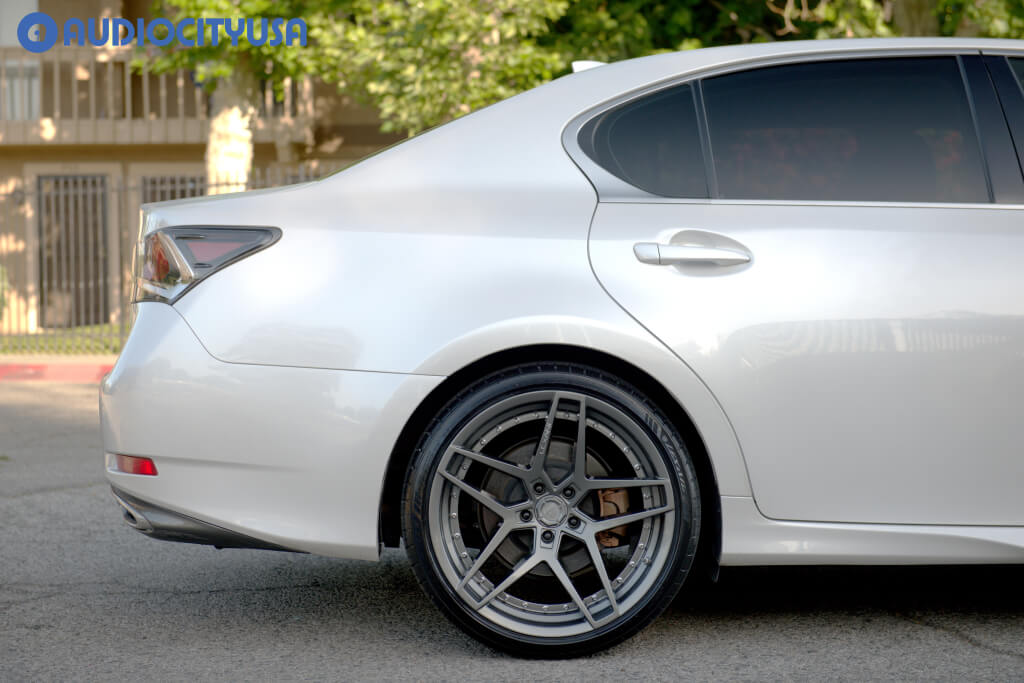 20″ Lexani Wheels Spike Gunmetal