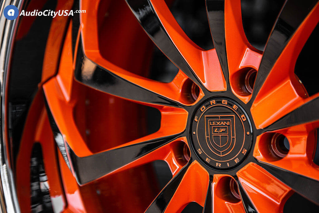 Lexani Forged Wheels LZ-770 & LF-770 Orange Madness