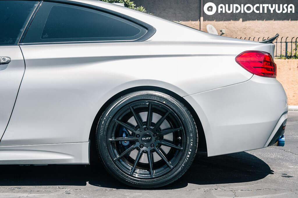 "18"" Ruff wheels RS2 Gloss Black"