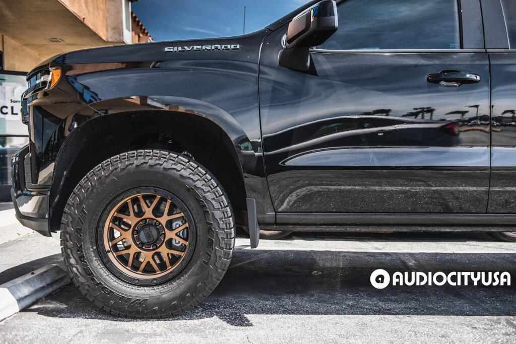 "18"" XD Wheels XD135 Grenade OR Matte Bronze with Matte Black Lip"