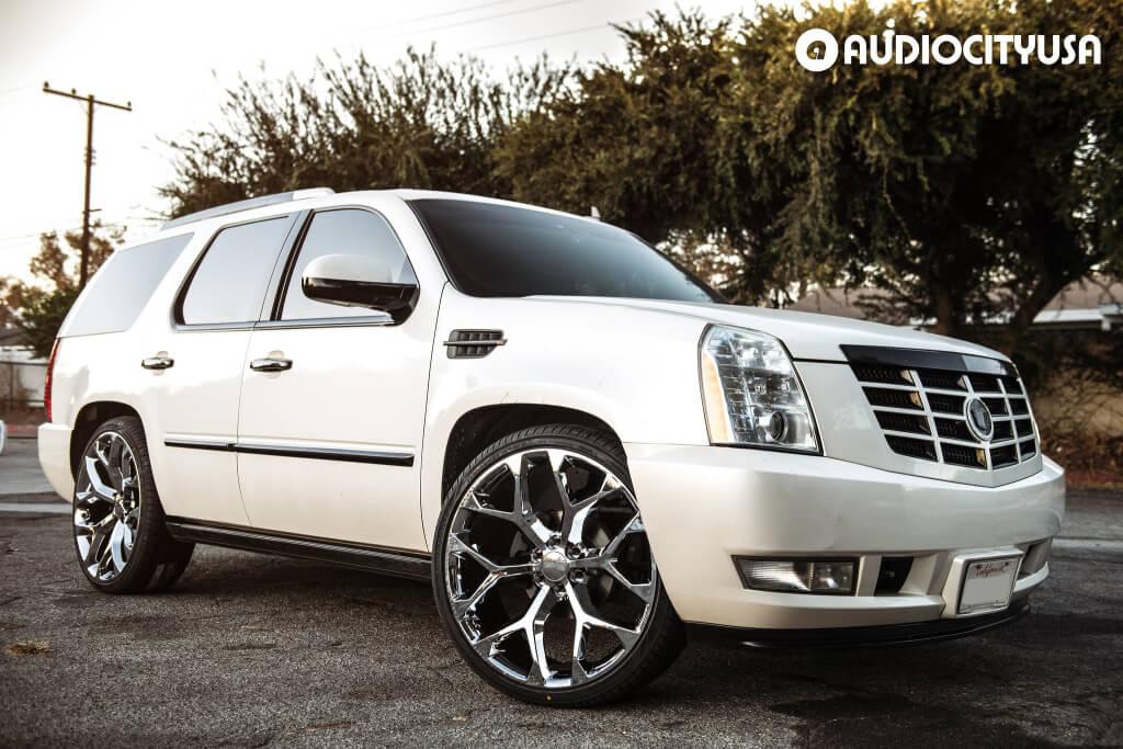 26″ OEM Replica Wheels Chevy Snowflake Chrome Rims