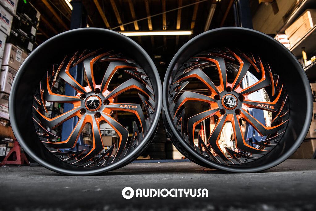 Artis Forged Wheels Royal on Audio City USA