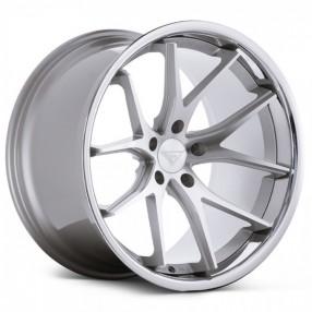 staggered ferrada wheels fr silver machined  chrome lip rims fr