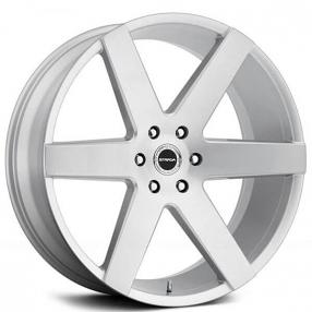 24 Quot Strada Wheels Coda Silver Brushed Rims Std019 2