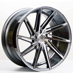 inovit wheels turbine gunmetal  polished face rims