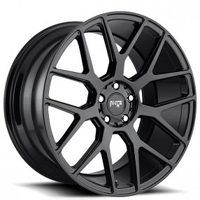 staggered niche wheels  intake gloss black rims nc