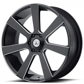 asanti wheels abl  satin black milled  lugs rims ast