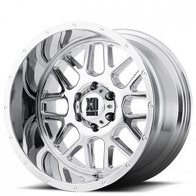 xd wheels xd grenade pvd chrome  road rims xd