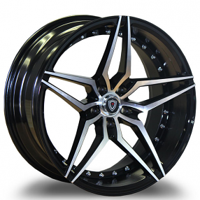 "22"" Marquee Wheels 3259 Black Machined Extreme Concave ..."