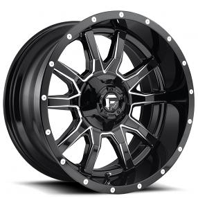 20 Quot Fuel Wheels D627 Vandal Gloss Black Milled Off Road