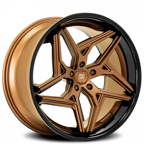 "Infiniti Usa Com >> 22"" Staggered Lexani Wheels Spyder Satin Bronze with Gloss Black Lip Rims #LX109-4"