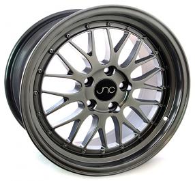 17 Quot 18 Quot Jnc Wheels Rims 005 Hyper Black Jdm Style G004