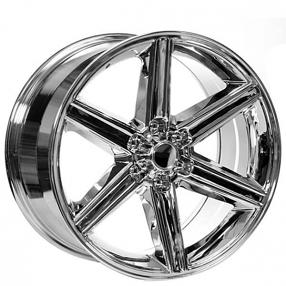 """26"""" IROC Wheels Chrome 6-lugs Rims #IRC006-3"""