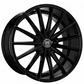 22 Quot Lexani Wheels Pegasus Gloss Black Rims Lx010 3