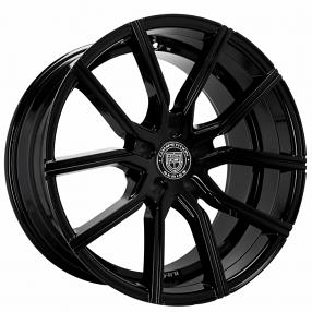 22 Quot Lexani Wheels Gravity Gloss Black Rims Lx017 3