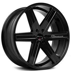 "Rims For Cheap >> 26"" Giovanna Wheels Dramuno-6 Black Rims #GV008-6"