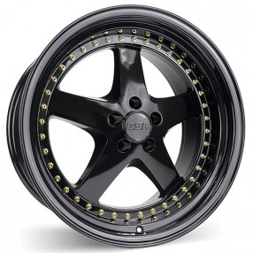 "Acura Tl Wheels >> 19"" ESR Wheels SR04 Black JDM Style Rims #ESR007-2"