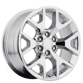 "24"" 2014 GMC Sierra Wheels Chrome OEM Replica Rims #OEM020-3"