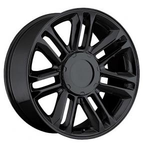 "Honda Factory Rims >> 24"" 2010 Cadillac Escalade Platinum Wheels Gloss Black OEM Replica Rims #OEM035-2"