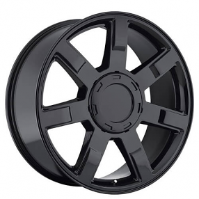 24 Quot Cadillac Escalade Wheels Gloss Black Oem Replica Rims