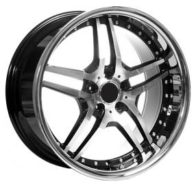 "Hyundai Customer Service >> 20"" Staggered EMR Wheels EM2 Black Machined Rimss #EMR001-4"