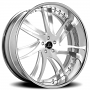 "24"" Artis Forged Wheels Profile Brushed Rims"