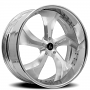 """20"""" Staggered Artis Forged Wheels Bully Brushed Rims"""