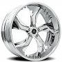 "24"" Artis Forged Wheels Bully Chrome Rims"
