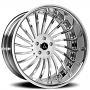 "20"" Artis Forged Wheels International Chrome Rims"