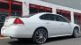 "24"" VCT Wheels V77 Chrome Huge Size Lip Rims"