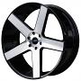 "26"" AC Wheels AC04 Black Machined Rims"