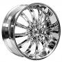 "18"" Borghini Wheels B19 Chrome Rims"