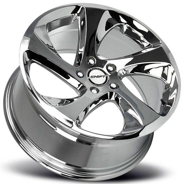 """Bmw Usa: 17"""" Shift Wheels Strut Chrome Rims #SFT045-1"""