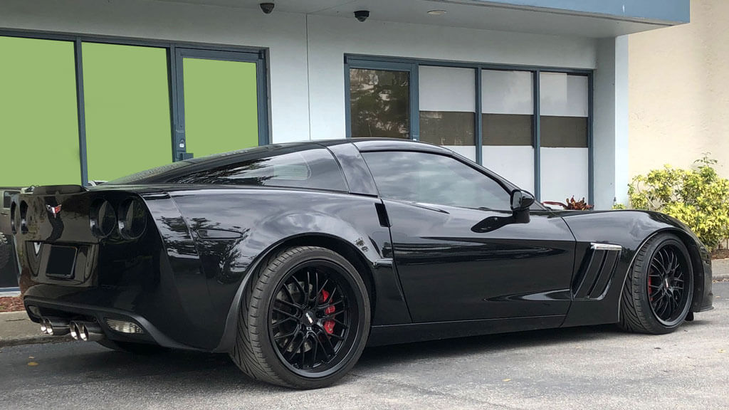"""19/20"""" Staggered Cray Wheels Eagle Matte Black Rims"""