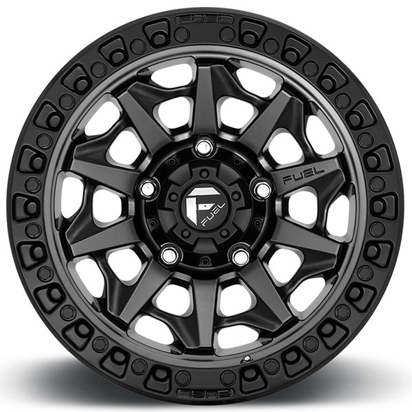20 U0026quot  Fuel Wheels D716 Covert Matte Anthracite With Black Ring Off
