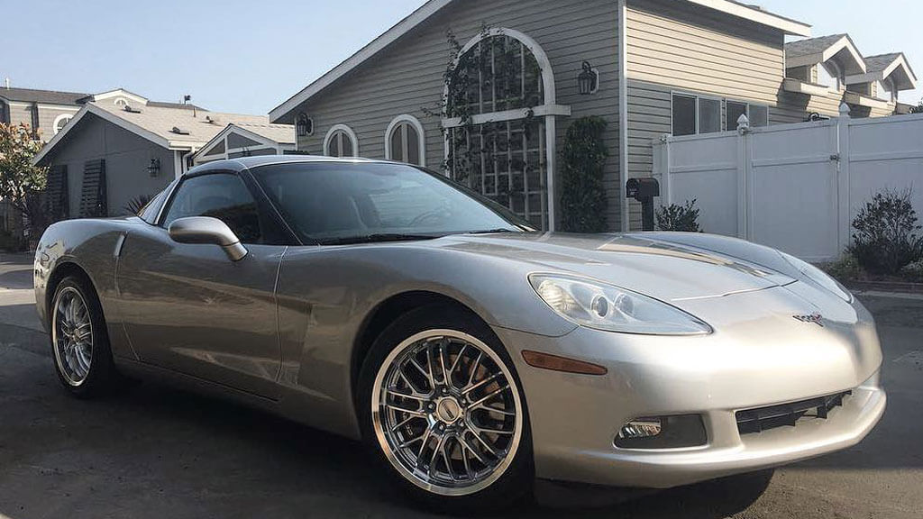 "18/19"" Staggered Cray Wheels Eagle Silver with Mirror Cut Face and Lip Rims"