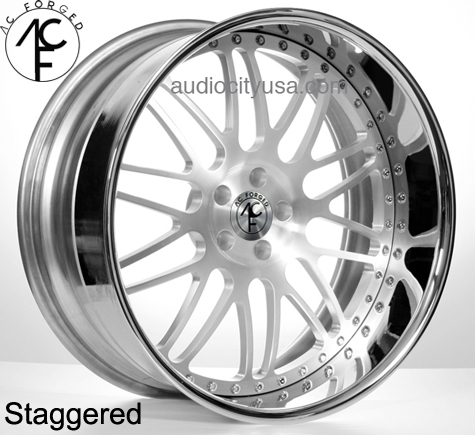 22 Quot Staggered Ac Forged Wheels Rims Ac311 St 3 Piece Ac030 5