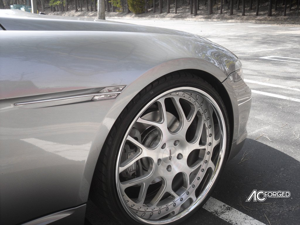 AC Forged Wheels Rims AC340 3 piece Rims