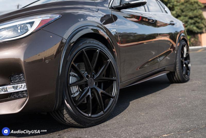 22 Quot Niche Wheels M117 Misano Matte Black Rims Nc011 7