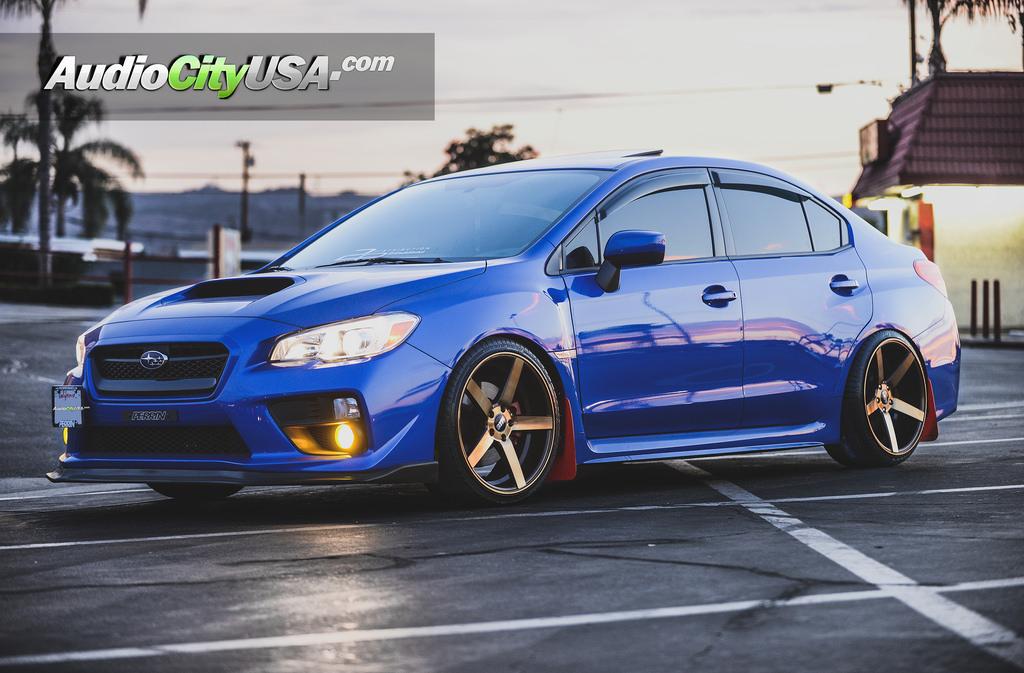 Subaru Wrx Sti Str Rims Wheels Concave Titanium Audiocityusa