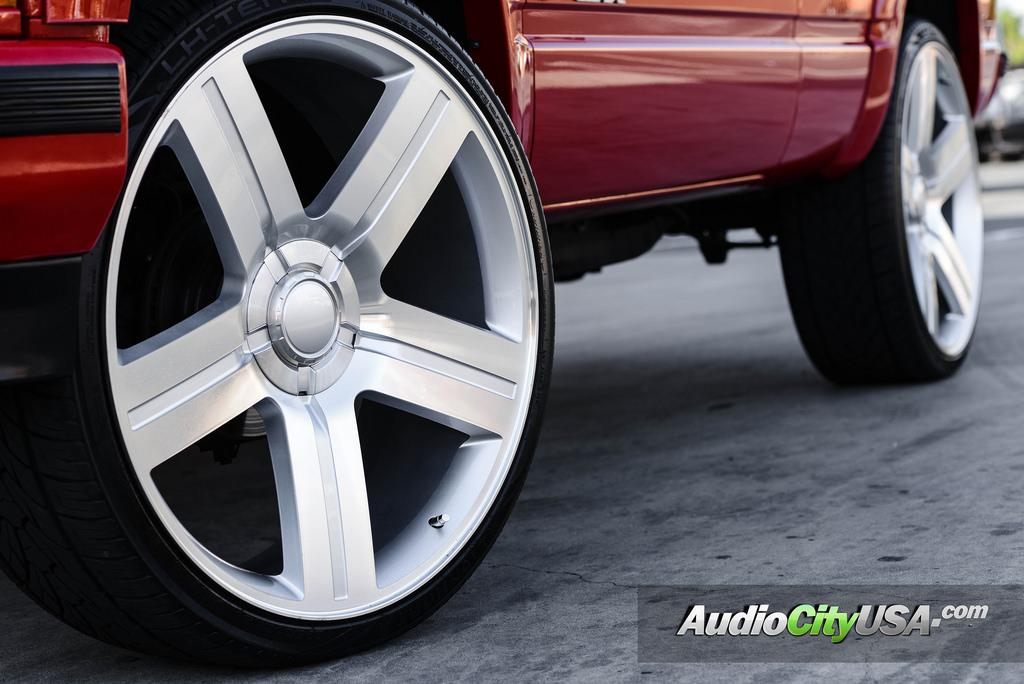 22 quot 24 quot texas addition wheels rims silver oem replica reg 1199 1399 h016a